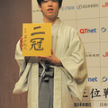 8月に二冠目の王位を獲得した藤井聡太(撮影・粟野仁雄)