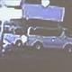 中学校の教師が飲酒運転か 衝突を繰り返す車の姿を防犯カメラが捉える