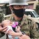 福岡県大牟田市 生後2カ月の赤ちゃんを含む住民らをボートで救助