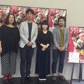 (左から)荒木啓子ディレクター、 李相日監督、山戸