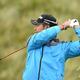 男子ゴルフ米国ツアーメジャー第4戦、第148回全英オープン2日目。7番でティーショットを打つ松山英樹(2019年7月19日撮影)。(c)ANDY BUCHANAN / AFP