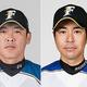来季の一軍投手コーチを務める(左から)厚沢氏、武田、荒木氏