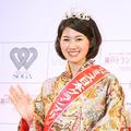 ミス日本の第44代グランプリに輝いた新井貴子さん