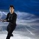 フィギュアスケートのGPシリーズ第3戦の中国杯。 高橋大輔はショートプログラムで首位にたったものの、フリーで町田樹に逆転され優勝を逃した。 写真はエキシビションで華麗な演技を披露する高橋大輔。 (写真:フォート・キシモト)  [2012年11月4日、上海オリエンタル・スポーツ・センター/中国]