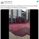 スペインでワイナリーの貯蔵タンクが破裂し、約5万リットルものワインが流出【映像】
