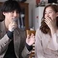 (左から)野田洋次郎、新木優子