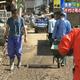 千曲川が決壊した長野市 雨で中断の復旧作業を再開