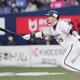 7回、適時二塁打を放つオリックス・T−岡田=京セラドーム大阪(撮影・門井聡)