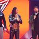 IC王者・中邑真輔(中央)(C)2020 WWE, Inc. All Rights Reserved.