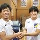 世界選手権代表を決めた太田忍を祝福する伊調馨