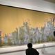 修復されたクロード・モネ「睡蓮、柳の反映」1916年 国立西洋美術館蔵