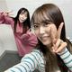 『みるみる道場』今回は、NMB48石塚朱莉(左)×白間美瑠(右)/(C)NMB48