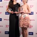 グランプリの田中恵さん、準グランプリの松瀬詩保さん