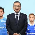 Jリーグ合同実行委員会後のWeb会見で、村井チェアマンが再開に向