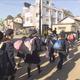 浸水被害の福島・本宮市 マスク登校で小中学校再開