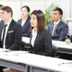就職説明会に参加する外国人 Photo by Karin Hanawa
