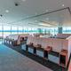 福岡空港、「ラウンジTIME/サウス」1月28日オープン 保安検査場通過後のカードラウンジ
