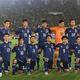 ミャンマー戦のスターティングメンバー。10人の欧州組が名を連ねた。写真:金子拓弥(サッカーダイジェスト写真部)
