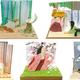 印象的なシーンをミニチュア化!スタジオジブリ「かぐや姫の物語」の可愛いジオラマが作れるキット発売