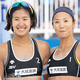 写真は「JBV品川オープン2019」において、決勝に駒を進めた二見梓と長谷川暁子