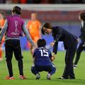 オランダに敗れ肩を落とす籾木 photo/Getty Images