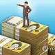 韓国の純資産100万ドル超の富裕層は昨年105万1000人と推計された(イラスト)=(聯合ニュース)