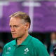 ラグビーW杯日本大会・準々決勝、ニュージーランド対アイルランド。試合に敗れたアイルランドのジョー・シュミットHC(2019年10月19日撮影)。(c)Odd Andersen / AFP