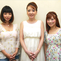 左よりMEGUMI、西川史子、重盛さと美