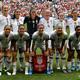 女子サッカーW杯フランス大会決勝、米国対オランダ。試合前の写真撮影に臨む米国の選手(2019年7月7日撮影、資料写真)。(c)Philippe DESMAZES / AFP
