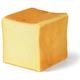バターなんていらないかも、と思わず声に出したくなるほど濃厚な食パン