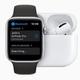 Apple WatchとAirPodsの画像