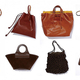 「ブラウン系のバッグ」
