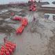 長江の洪水を想定した水防演習実施 江西省九江市