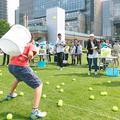 東京ミッドタウンのGWは体感型イベント。ギネス挑戦にヨガに読書