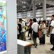 多くの人でにぎわうコミックマーケット会場=10日、東京都江東区有明3丁目の東京ビッグサイト