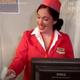 米国人女性が、家の中で飛行機の旅を再現!【映像】
