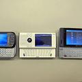 X01T、W-ZERO3[es]、EM・ONEの比較(キーボード)