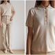ユニクロユーの2021年春夏アイテムの「ビスコースブレンドニットポロシャツ」をご紹介します。