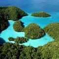 サンゴ礁の美しい太平洋の島パラオ。日本の3200キロ南、台湾か