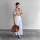 おしゃれな50代女性はどんなバッグを持ってる? きれいめ&カジュアルな大人バッグコーデ12選♪