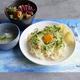 コラボカフェで味わえる再現メニュー「陽菜がふるまったお手製ごはん」