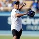ダルビッシュ有も登板した試合で同じマウンドに立ったエムバペ。その野球センスやいかに……。 (C) Getty Images