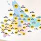 無茶な旅行計画を立てる前に見るべき 北海道の距離感が分かる地図