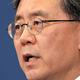 ソウルの青瓦台で23日、軍事情報包括保護協定(GSOMIA)破棄について説明する大統領府の金鉉宗・国家安保室第2次長=AP