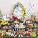 アリスのフラワーティーパーティー 〜ティースイーツコレクション〜/画像提供:ホテル インターコンチネンタル 東京ベイ