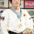 57kg級で優勝を果たした、宇高菜絵 (2013年11月29日、撮影:二