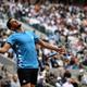 全仏オープンテニス、男子シングルス決勝。試合に臨むドミニク・ティエム(2019年6月9日撮影)。(c)Philippe LOPEZ / AFP