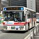 西日本鉄道のバス=2020年2月26日、福岡市博多区
