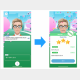 AI英会話アプリ「スピークバディ」iOS最新版の画面(画像:アップアレイ発表資料より)