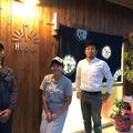 左から、中村栄太さん、山本美帆さん、森帆嵩さん。34歳、34歳、
